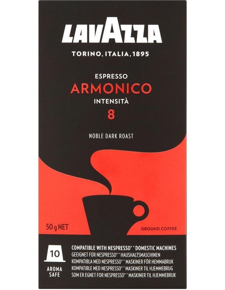 Armonico Espresso Capsules 10pk: Orange/Black 88100 image 2