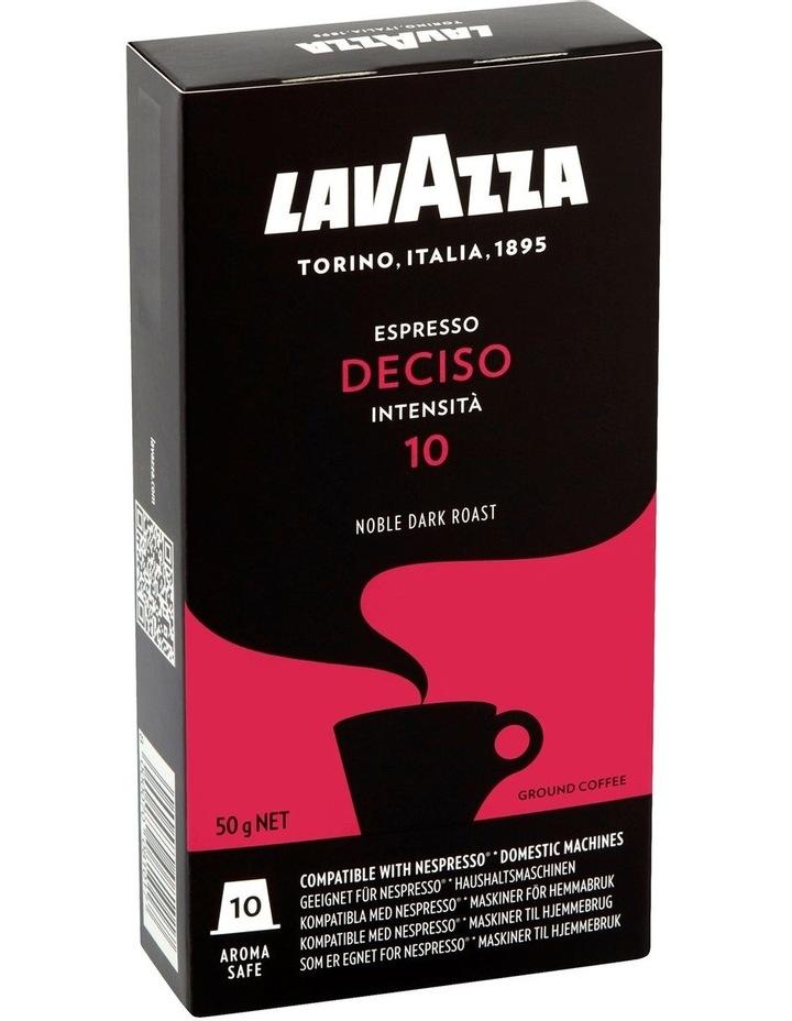 Deciso Espresso Capsules 10pk: Red/Black 88101 image 1