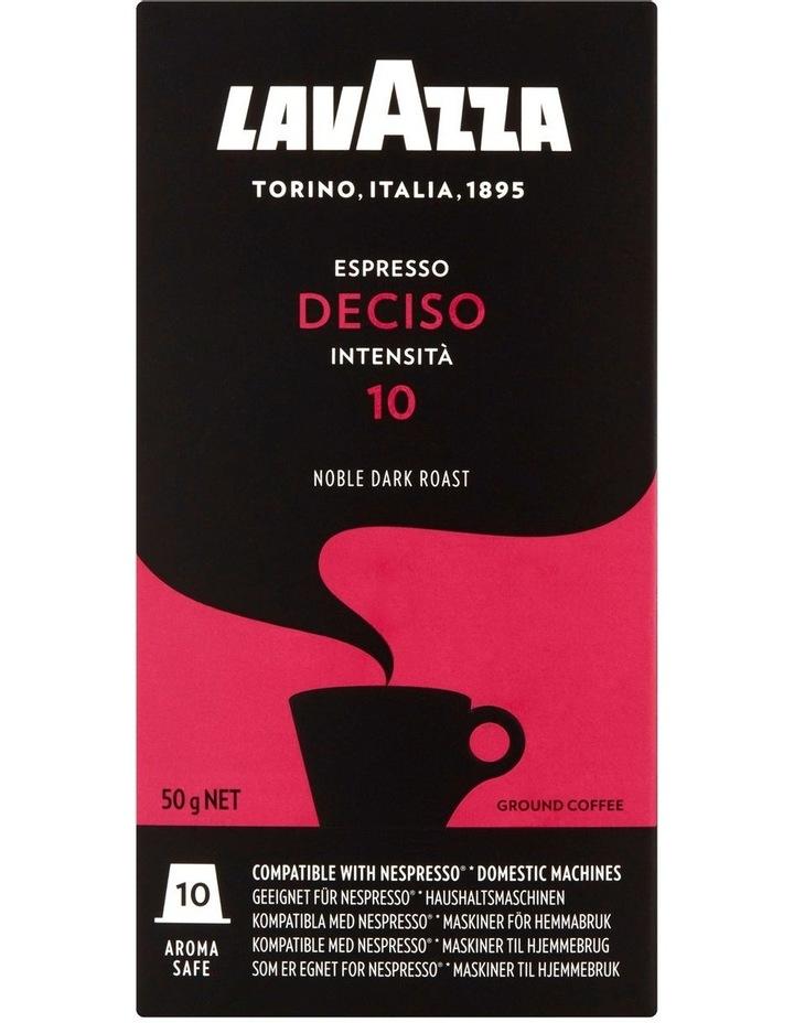 Deciso Espresso Capsules 10pk: Red/Black 88101 image 2