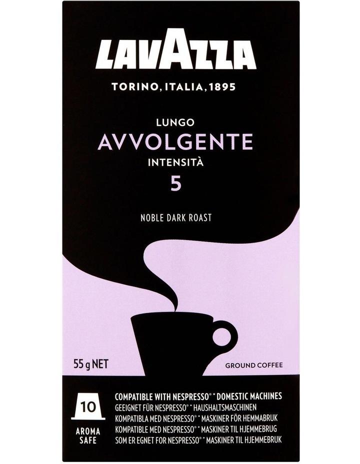 Avvolegente Lungo Capsules 10pk: Purple/Black 88116 image 2
