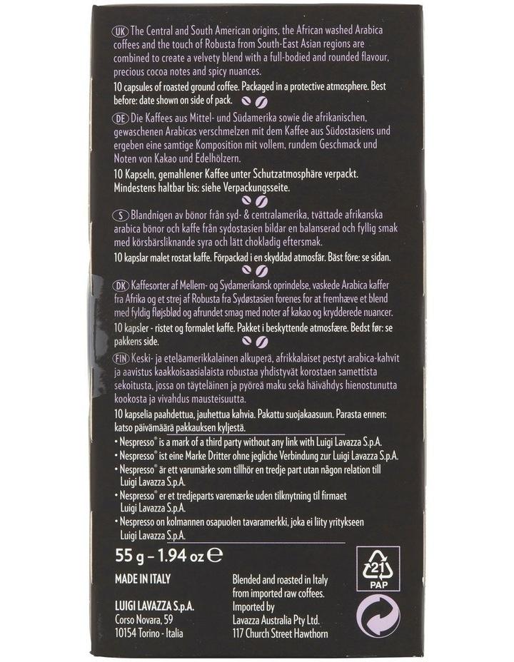 Avvolegente Lungo Capsules 10pk: Purple/Black 88116 image 3