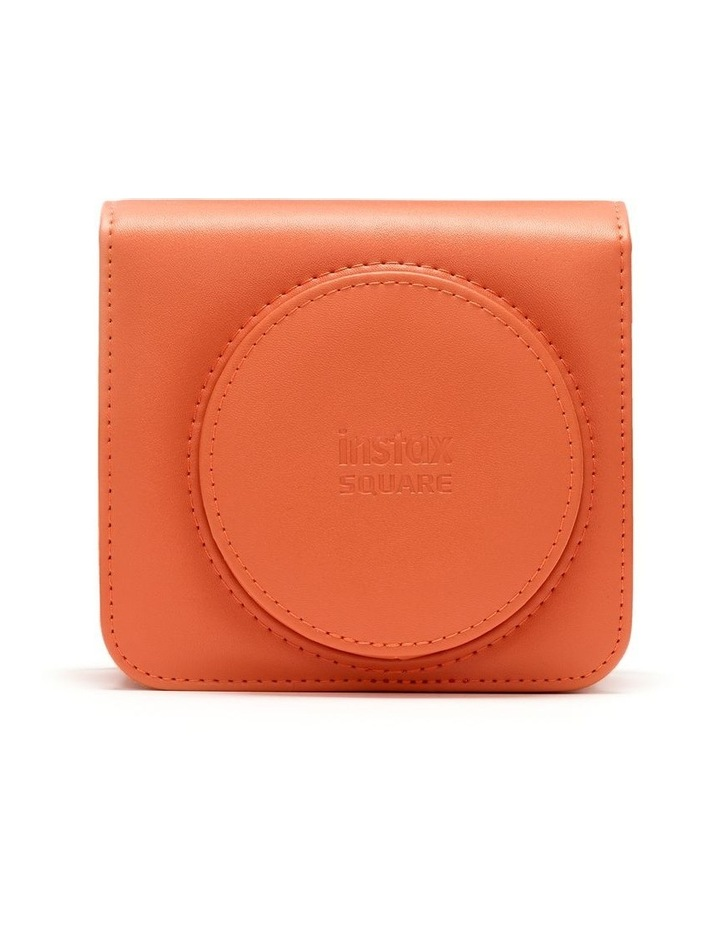 Instax Square SQ1 Leather Case - Terracotta Orange image 1