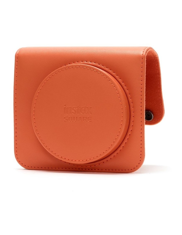 Instax Square SQ1 Leather Case - Terracotta Orange image 2