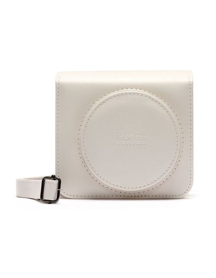 Instax Square SQ1 Leather Case - Chalk White image 1