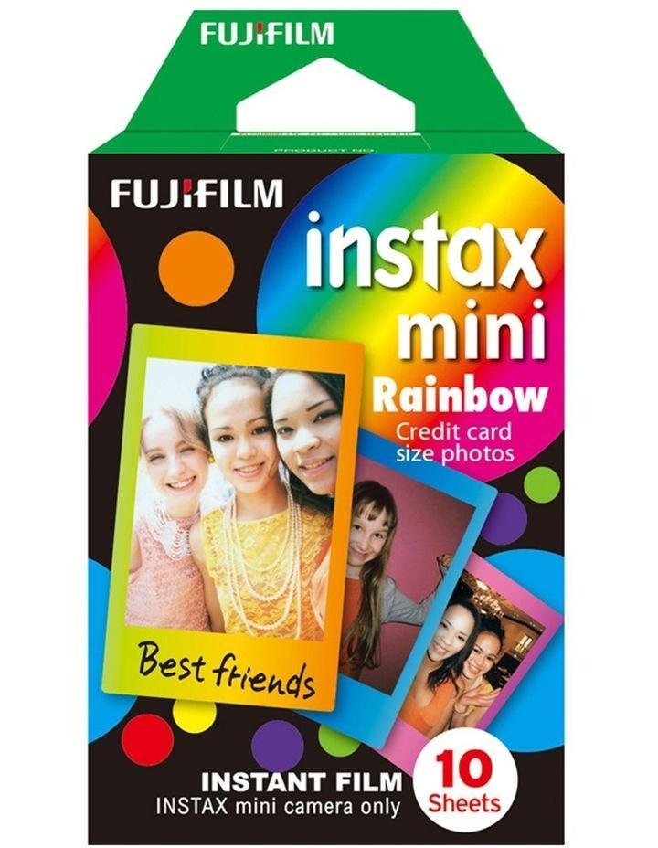 Instax Mini 10 pack Film - Rainbow image 1