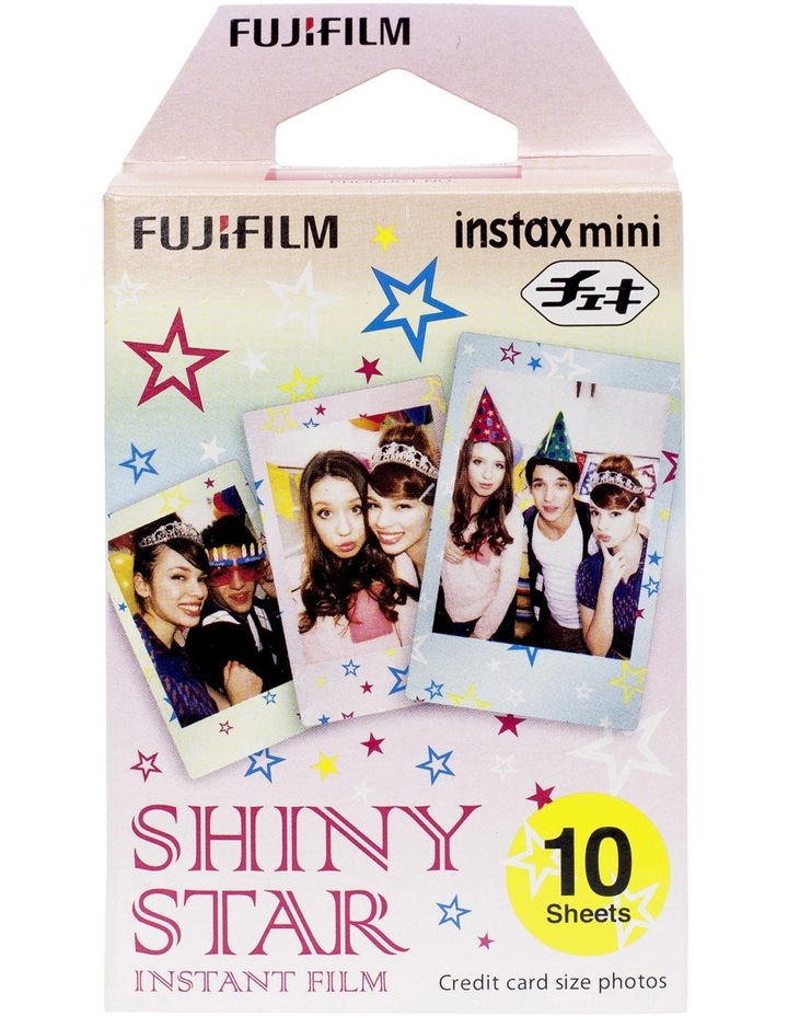 Instax Mini 10 pack Film - Shiny Star image 1