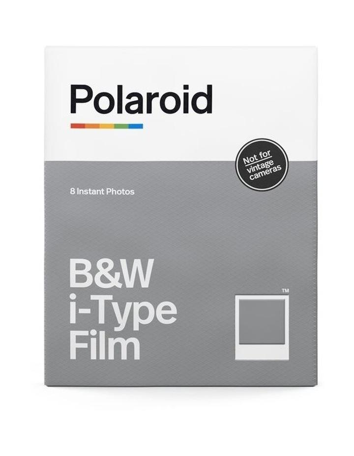 i-Type Instant Black & White Film (Single Pack) image 2