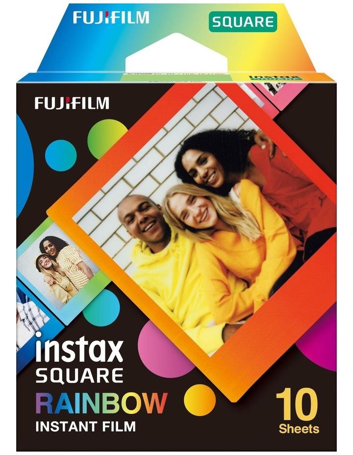 Instax Square Rainbow Instant Film 10pk image 1