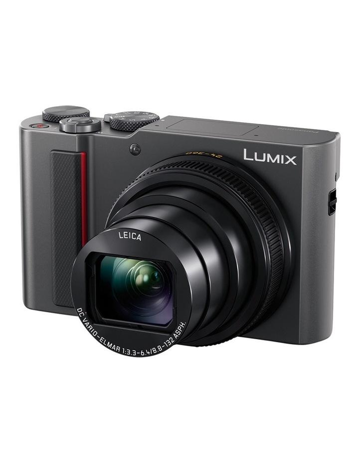 Compact Camera Silver TZ220 20MP 15X Zoom 4K image 2