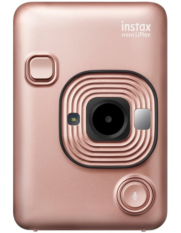 Instax LiPlay Camera Blush Gold image 1