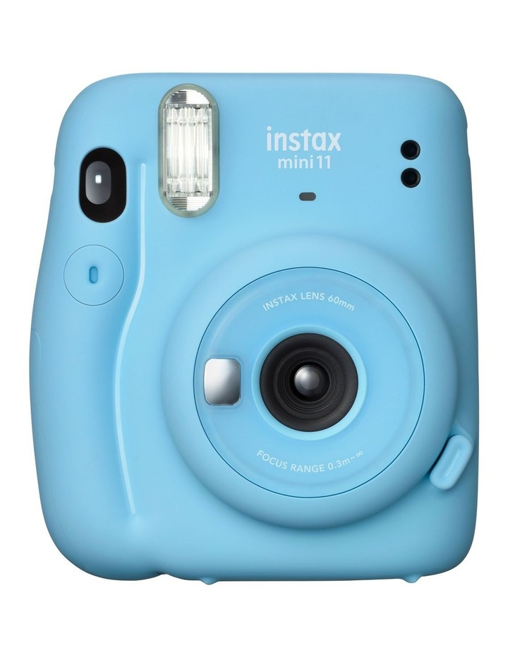 Instax Mini 11 Camera - Sky Blue image 1