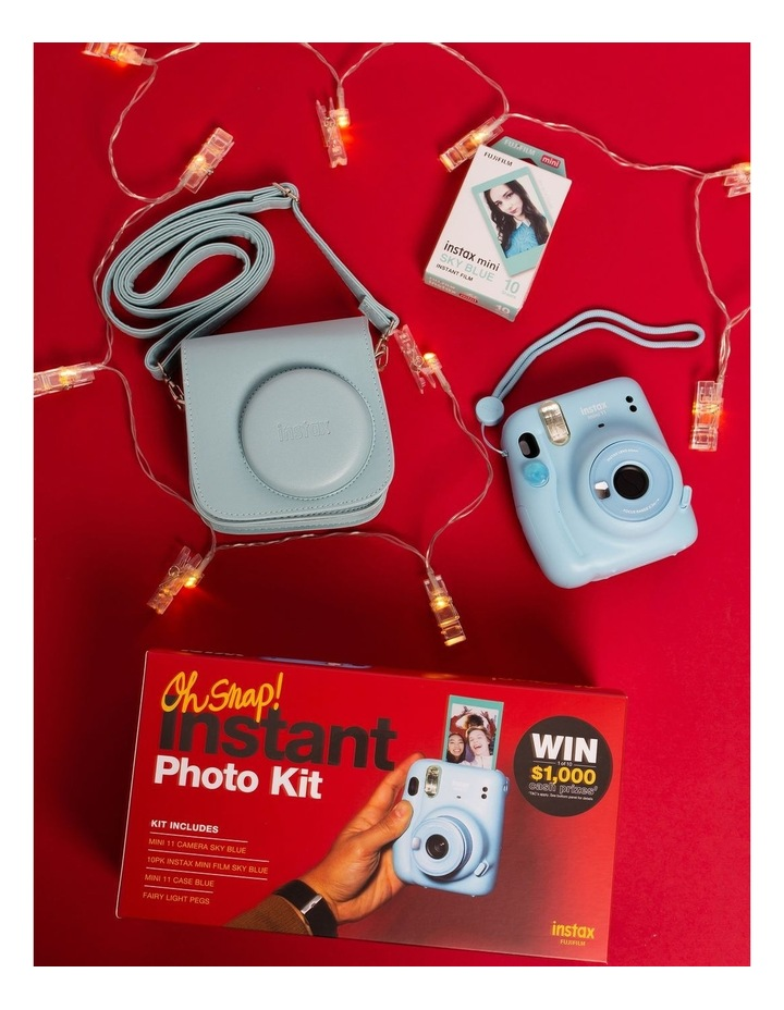 Instax Instant Photo Kit - Sky Blue image 2