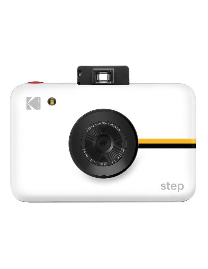Step Instant Print White Digital Camera image 1
