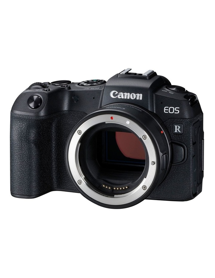 Canon EOS RP Full Frame Mirrorless Camera with EF-EOSR Lens Mount Adaptor image 1