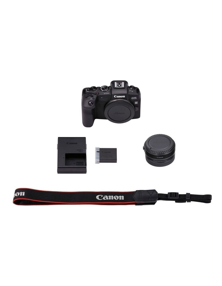 Canon EOS RP Full Frame Mirrorless Camera with EF-EOSR Lens Mount Adaptor image 3