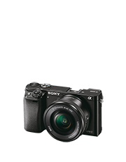A6000 24.3MP 16-50mm Mirrorless Camera