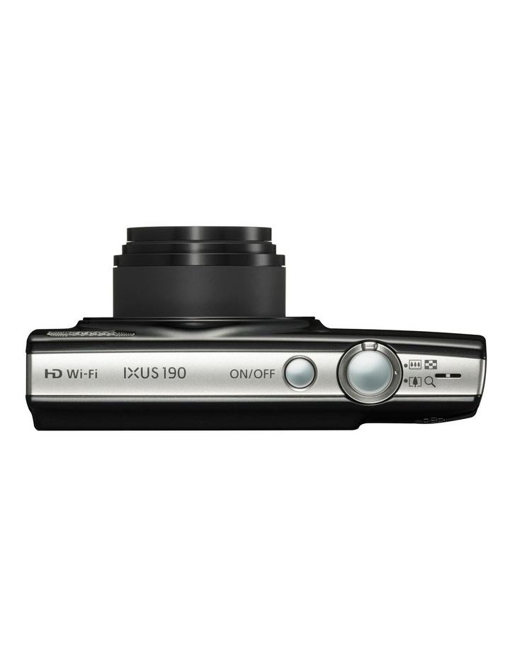 IXUS190BK 24mm 10x DSC Black image 3