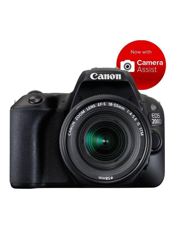 EOS 200D DSLR with EF-S 18-55mm Lens image 1