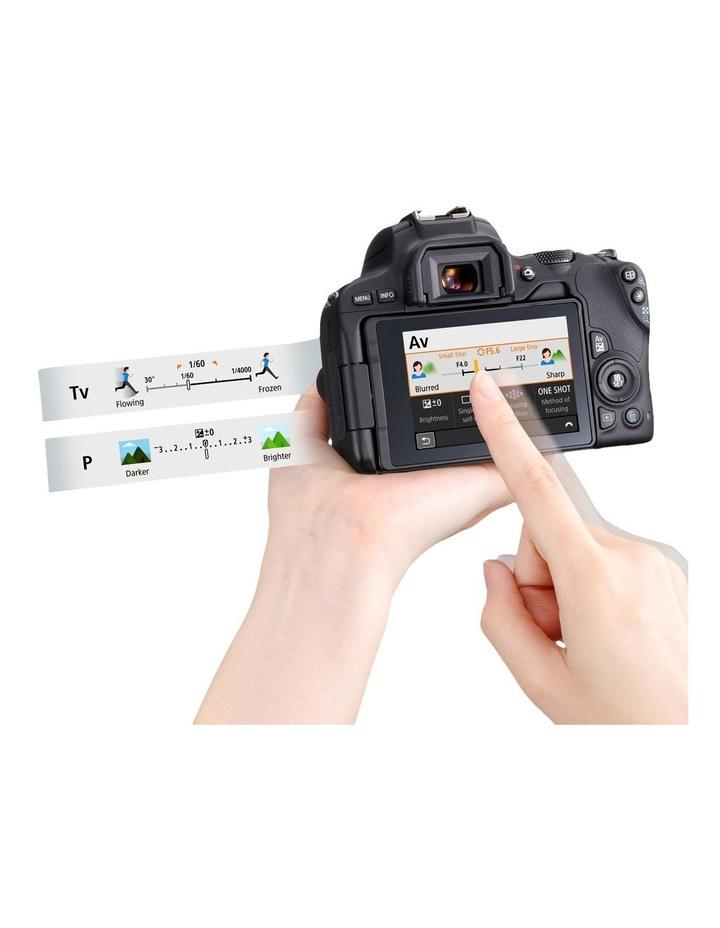 EOS 200D DSLR with EF-S 18-55mm Lens image 4