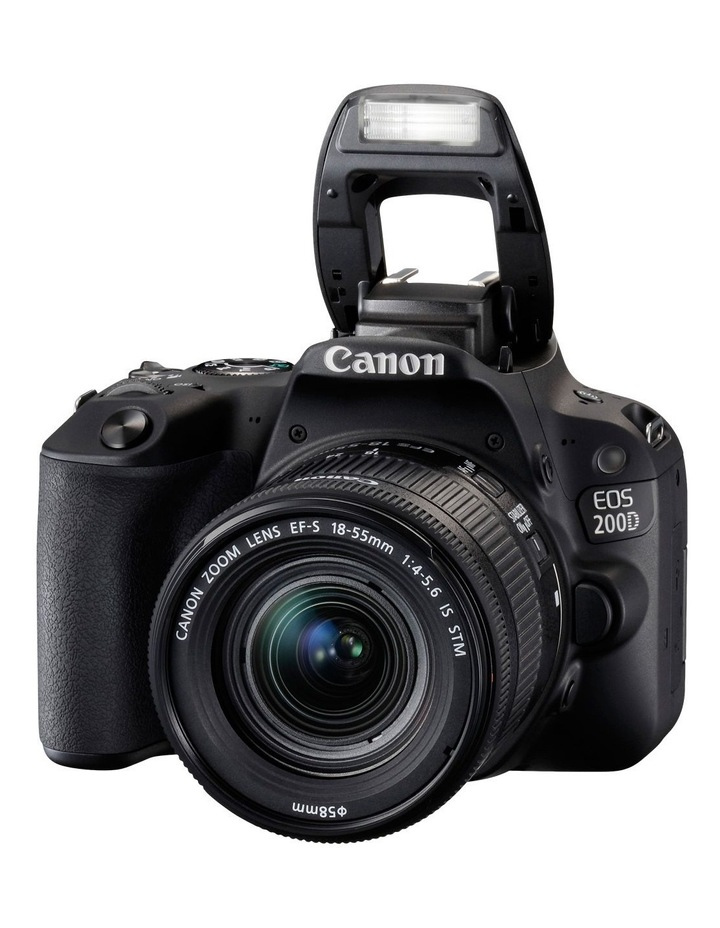 EOS 200D DSLR with EF-S 18-55mm Lens image 6