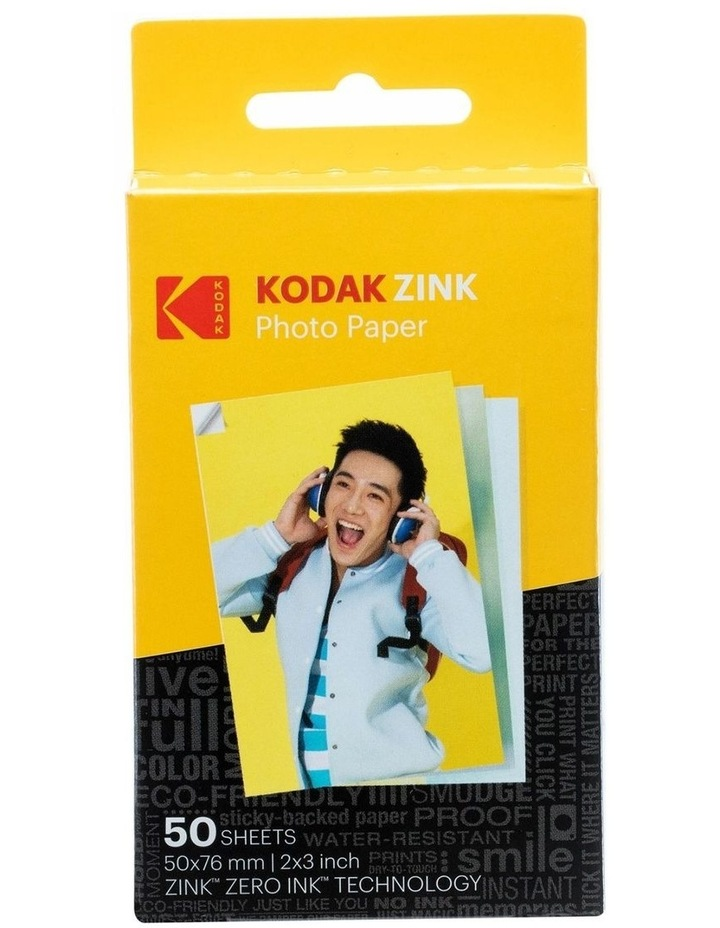 "Zink Media 2""x3"" Photo Paper - 50 Pack image 1"