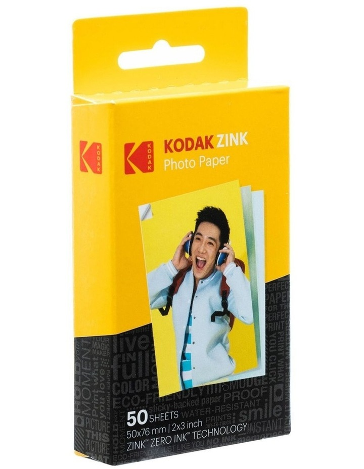 "Zink Media 2""x3"" Photo Paper - 50 Pack image 2"