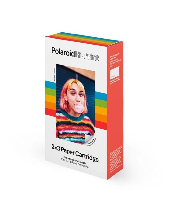 Polaroid Hi-Print 2x3 Paper Cartridge (2 x 10 sheets) image 1
