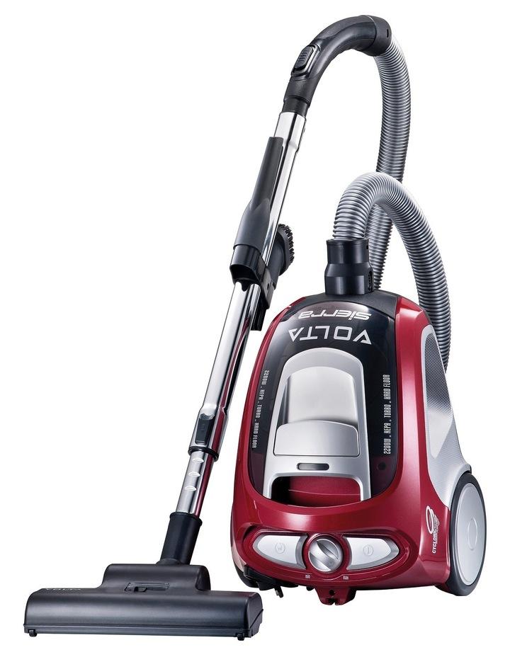 UVE4120FL Sierra Pet Plus Bagless Barrel Vacuum Cleaner: Red image 1