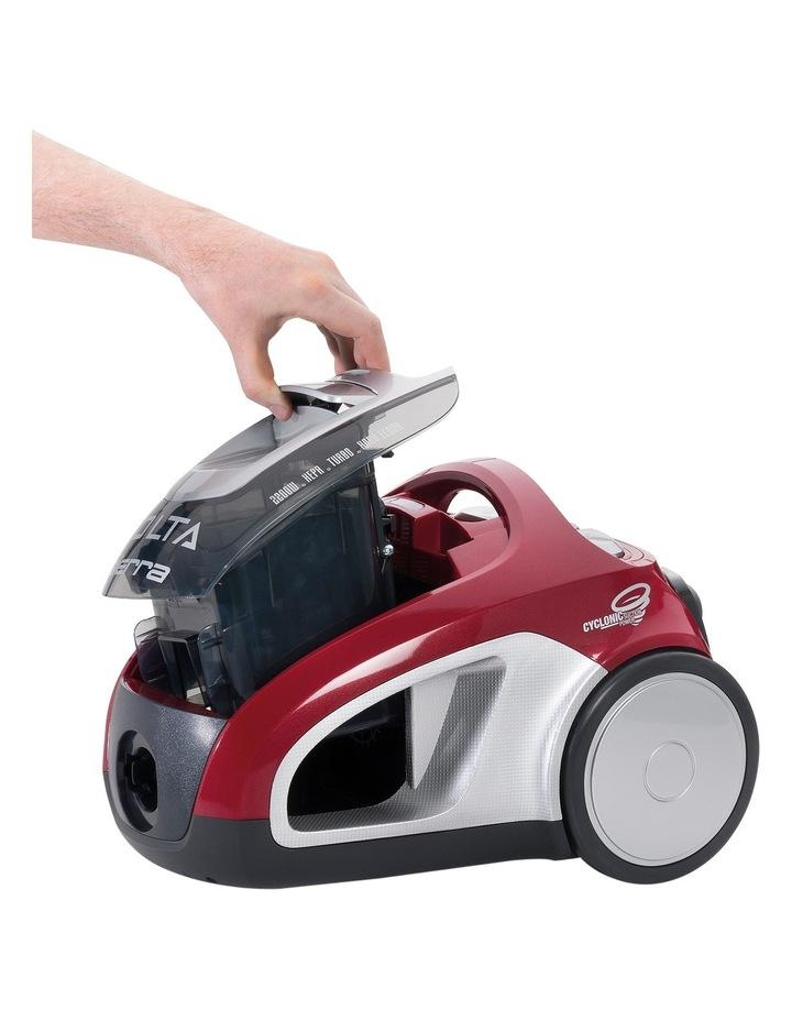 UVE4120FL Sierra Pet Plus Bagless Barrel Vacuum Cleaner: Red image 2
