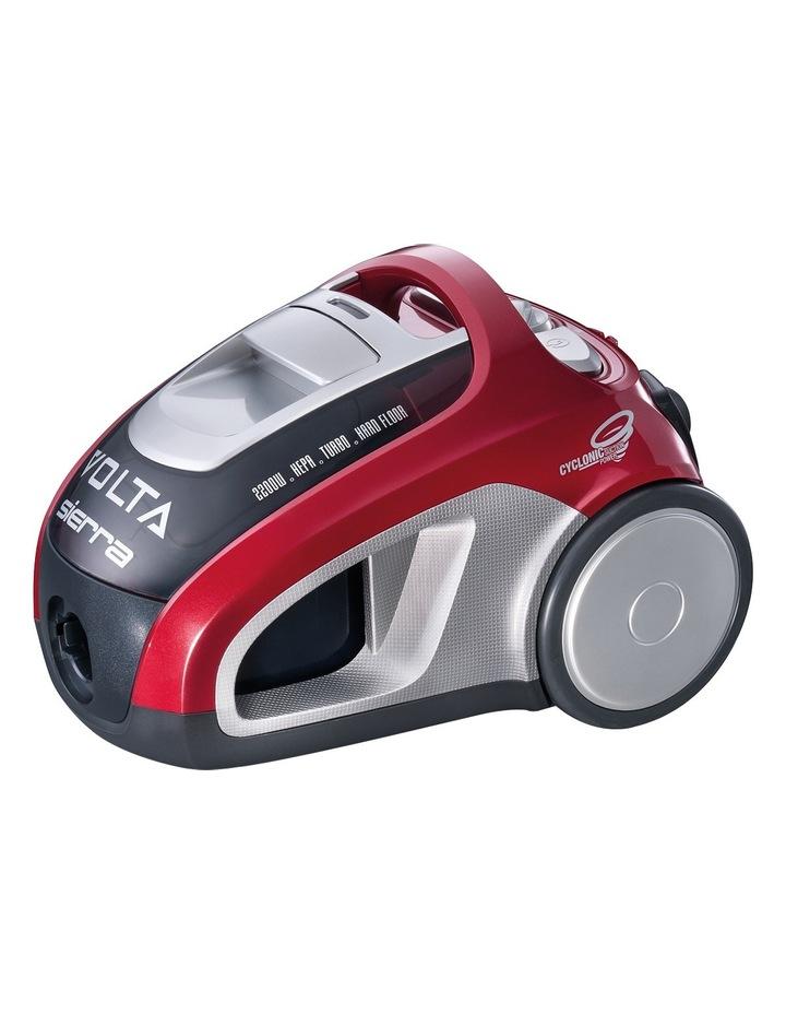 UVE4120FL Sierra Pet Plus Bagless Barrel Vacuum Cleaner: Red image 3