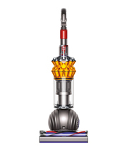 213551-01 Small Ball Multifloor Upright Vacuum Cleaner: Nickel/Satin Yellow