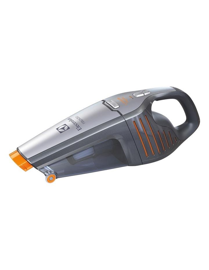 ZB4114 Rapido 14.4V Handheld Rechargeable Vacuum: Tungsten Metallic image 1