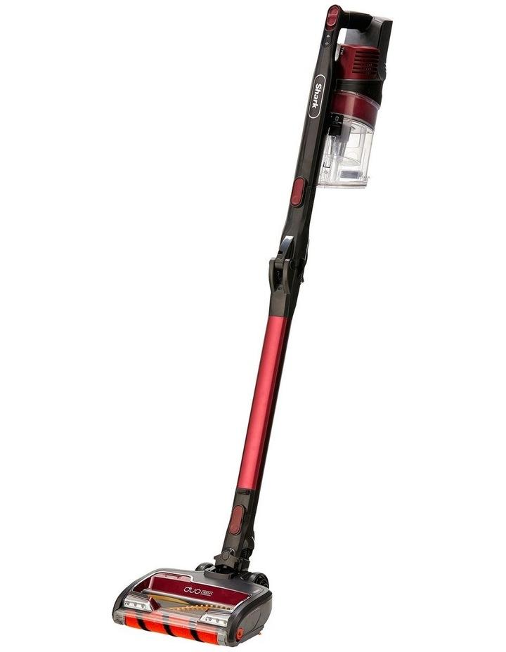Self Cleaning Handstick Vacuum Magenta IZ202 image 2