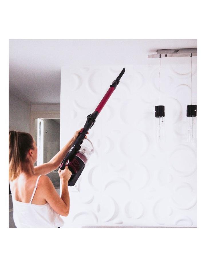 Self Cleaning Handstick Vacuum Magenta IZ202 image 6