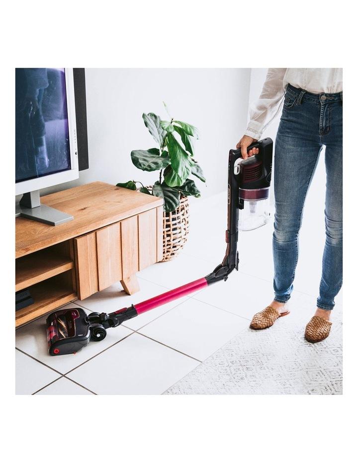 Self Cleaning Handstick Vacuum Magenta IZ202 image 7
