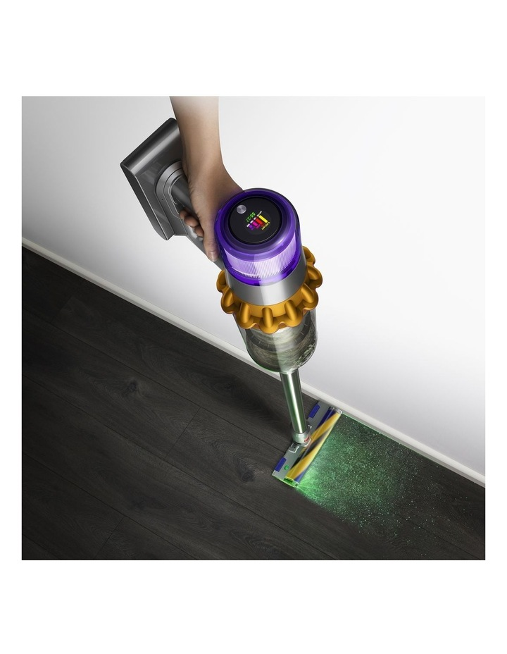 Dyson V15 Detect Total Clean Stick Vacuum in Nickel/Yellow image 3