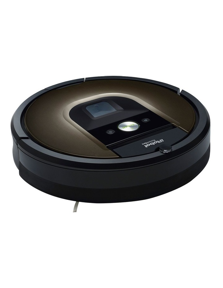 R980 Roomba Robotic Vacuum Cleaner with iAdapt Navigation: Black image 1