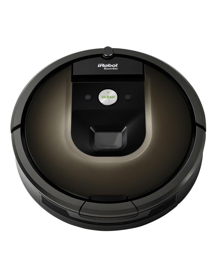 R980 Roomba Robotic Vacuum Cleaner with iAdapt Navigation: Black image 2