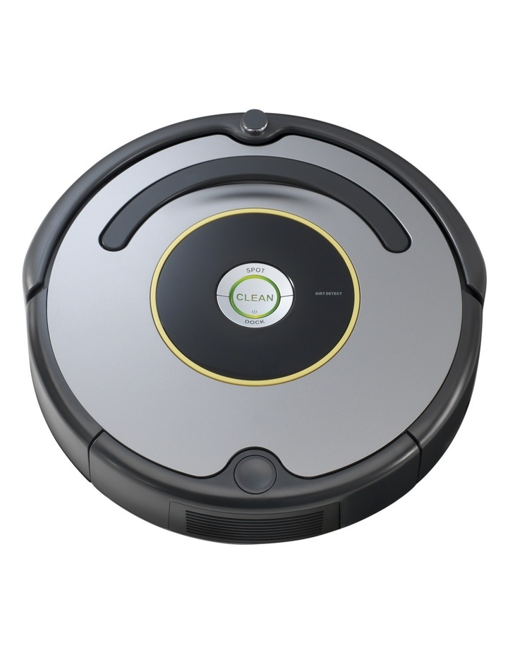 R630 Roomba Robotic Vacuum Cleaner with iAdapt Navigation: Black/Silver image 1