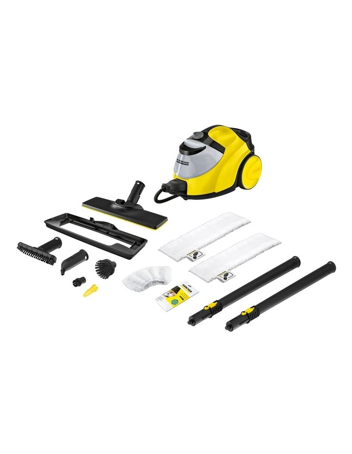 SC 5 EasyFix Continuous Steam Cleaner Yellow image 1