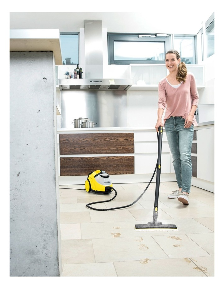SC 5 EasyFix Continuous Steam Cleaner Yellow image 3
