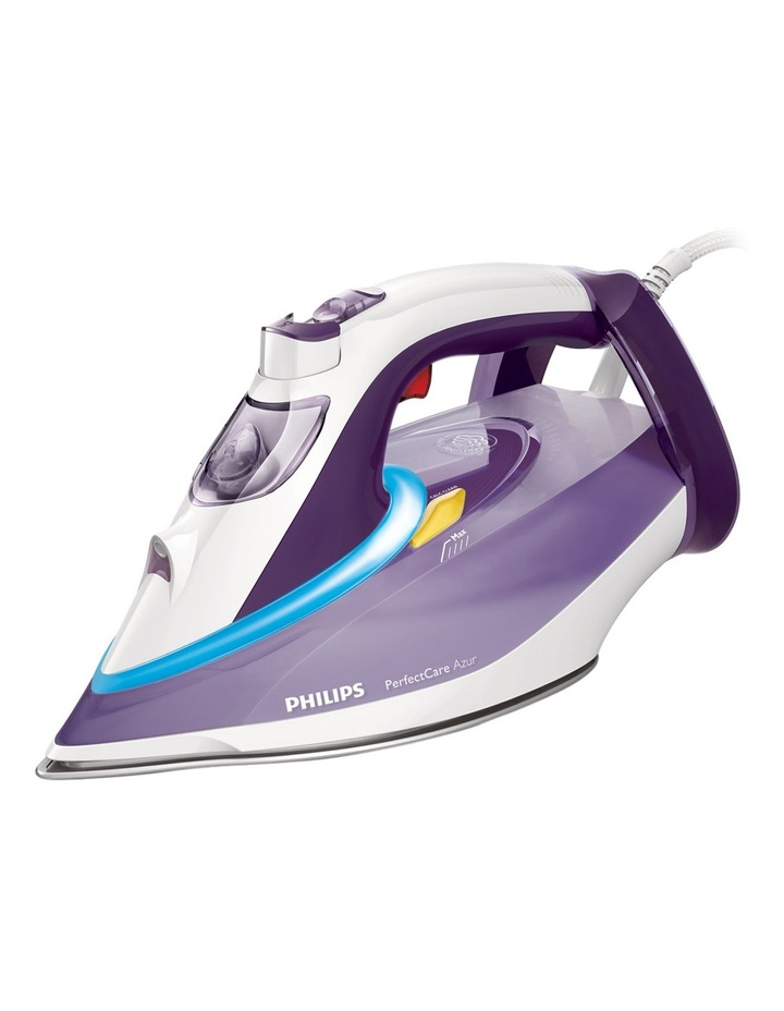 GC4913 Perfect Care Azur 200g SOS T-Ionic Glide Steam Iron: White/Purple image 1