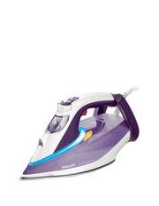 Philips - GC4913 Perfect Care Azur 200g SOS T-Ionic Glide Steam Iron: White/Purple
