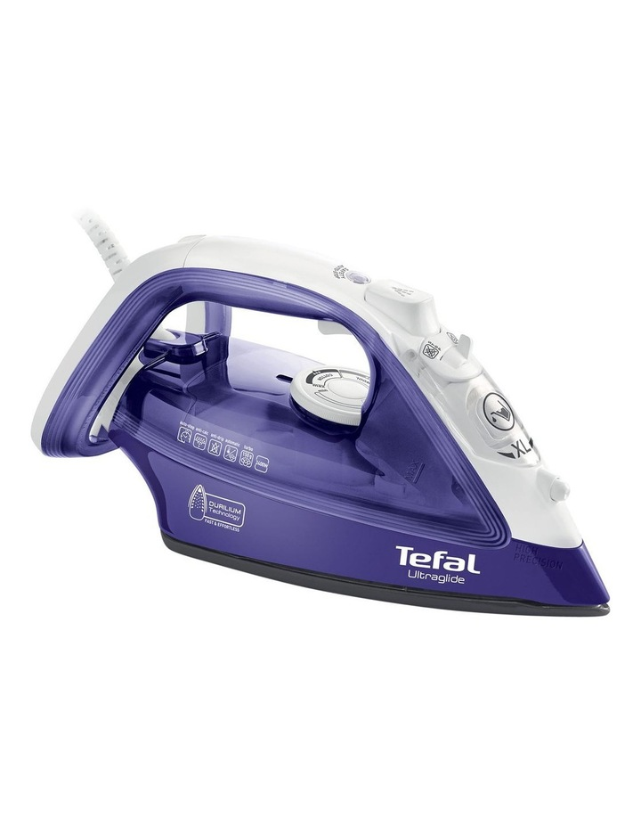 Ultraglide, Auto Shut off Steam Iron: Purple/White FV4042 image 1