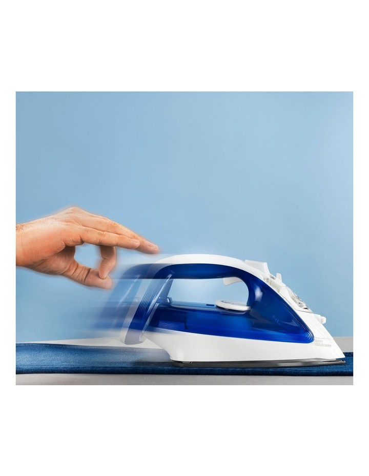Ultraglide, Auto Shut off Steam Iron: Purple/White FV4042 image 5