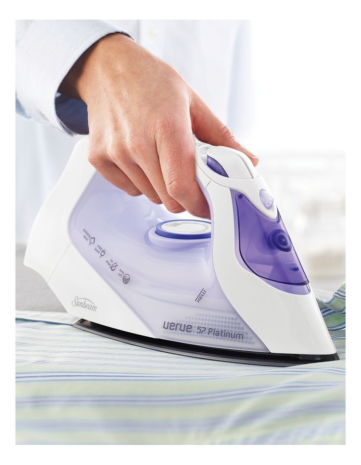 SR6575 Verve 57 Platinum Iron: White/Purple image 2