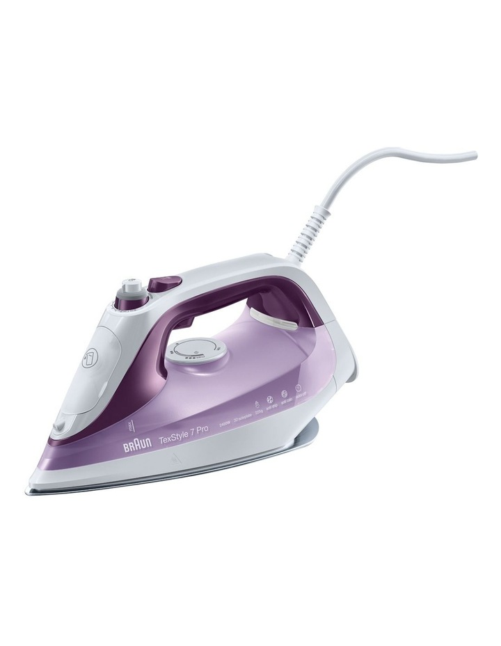 TexStyle 7 Pro Steam iron Purple SI7046VI image 1