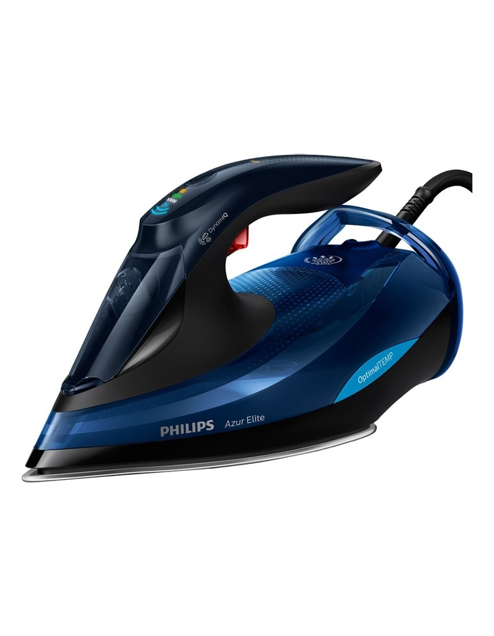 PerfectCare Azur Elite Steam Iron:Black/Blue GC5031/20 image 1