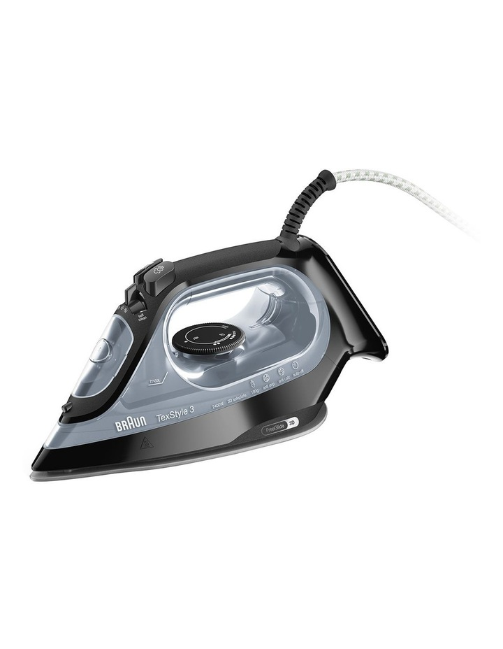 TexStyle 3 Steam Iron Black SI3055BK image 1