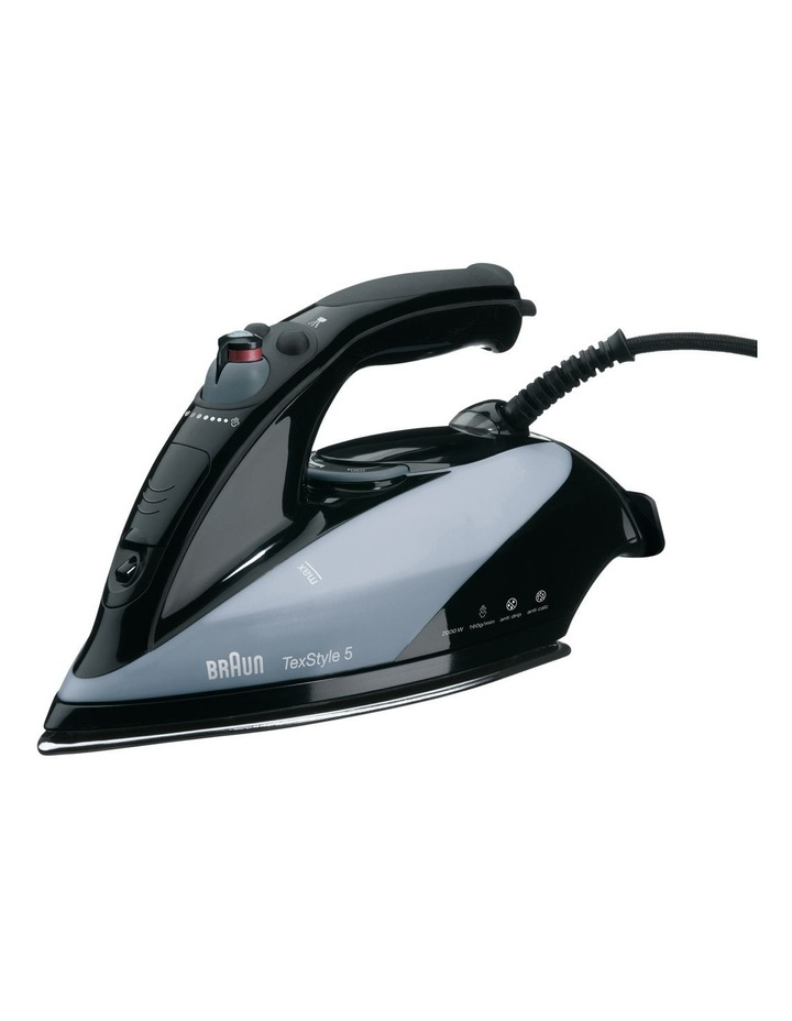 TexStyle 5 Steam Iron: Black TS545S image 1